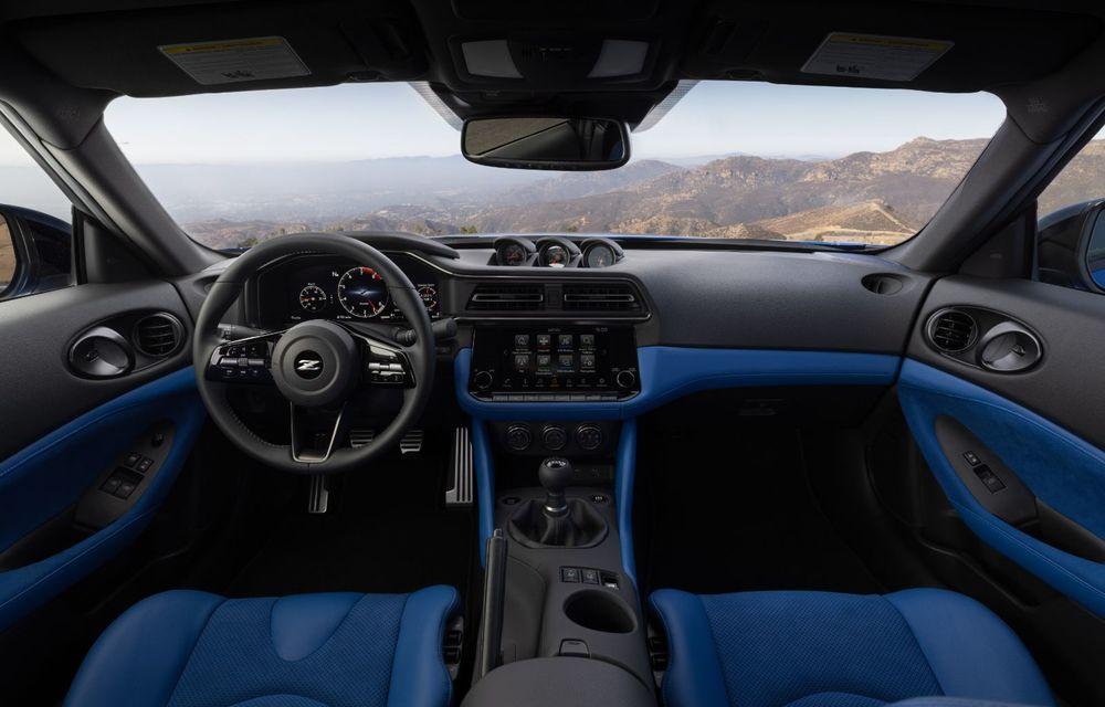 Urmașul lui Nissan 370Z este aici: se numește Nissan Z și vine tot cu motor V6 - Poza 18