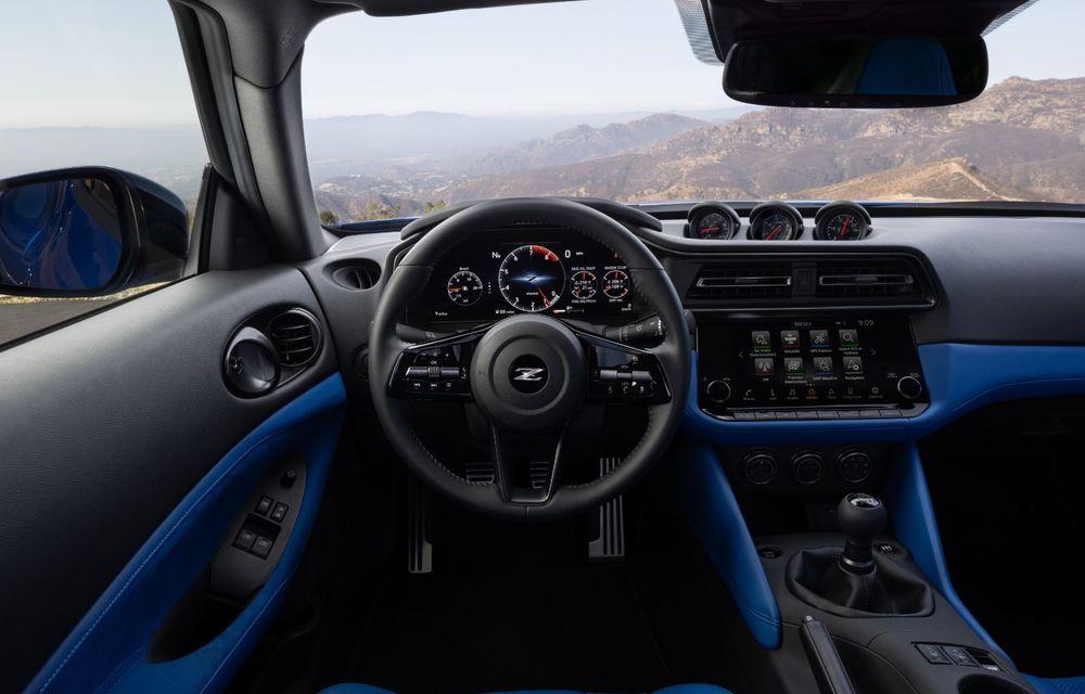 Urmașul lui Nissan 370Z este aici: se numește Nissan Z și vine tot cu motor V6 - Poza 19