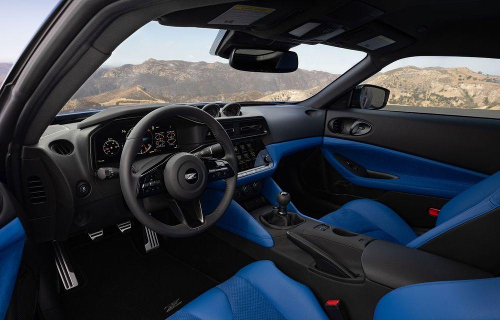 Urmașul lui Nissan 370Z este aici: se numește Nissan Z și vine tot cu motor V6 - Poza 20