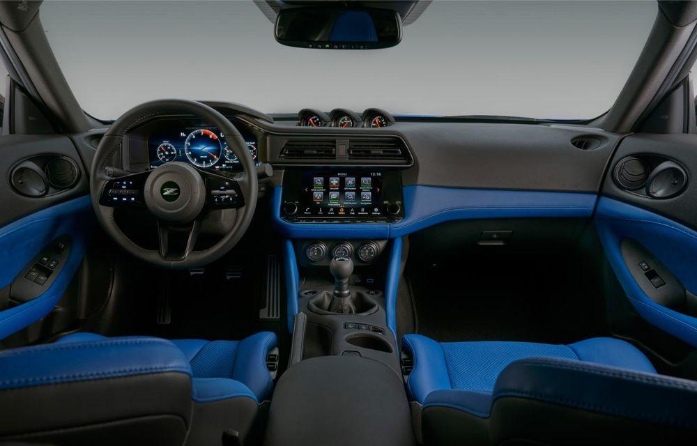 Urmașul lui Nissan 370Z este aici: se numește Nissan Z și vine tot cu motor V6 - Poza 21