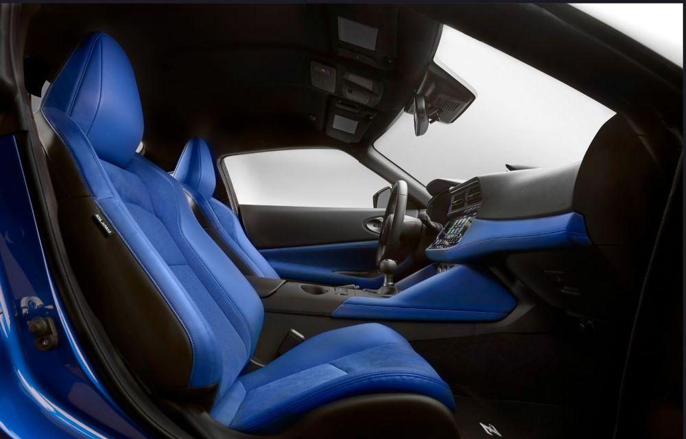 Urmașul lui Nissan 370Z este aici: se numește Nissan Z și vine tot cu motor V6 - Poza 26