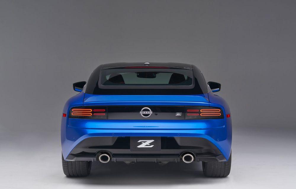 Urmașul lui Nissan 370Z este aici: se numește Nissan Z și vine tot cu motor V6 - Poza 31