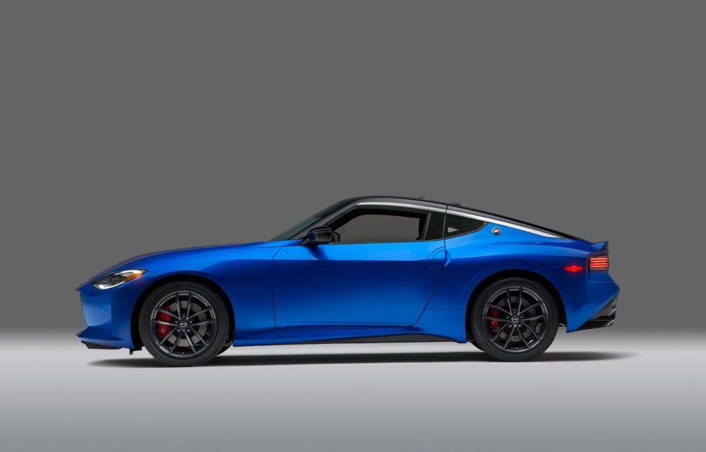 Urmașul lui Nissan 370Z este aici: se numește Nissan Z și vine tot cu motor V6 - Poza 33