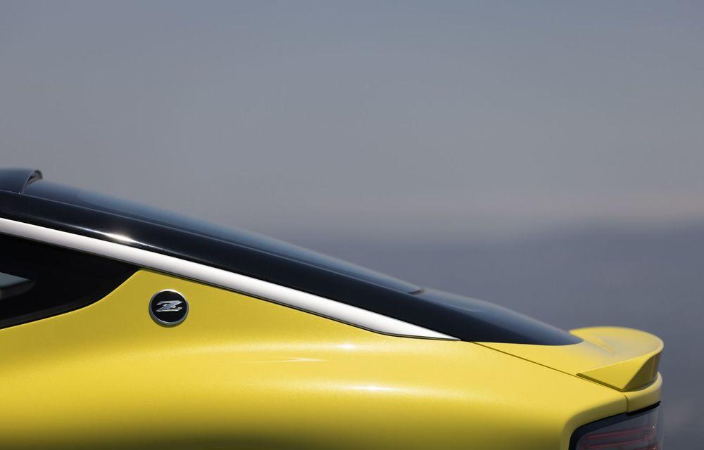 Urmașul lui Nissan 370Z este aici: se numește Nissan Z și vine tot cu motor V6 - Poza 46