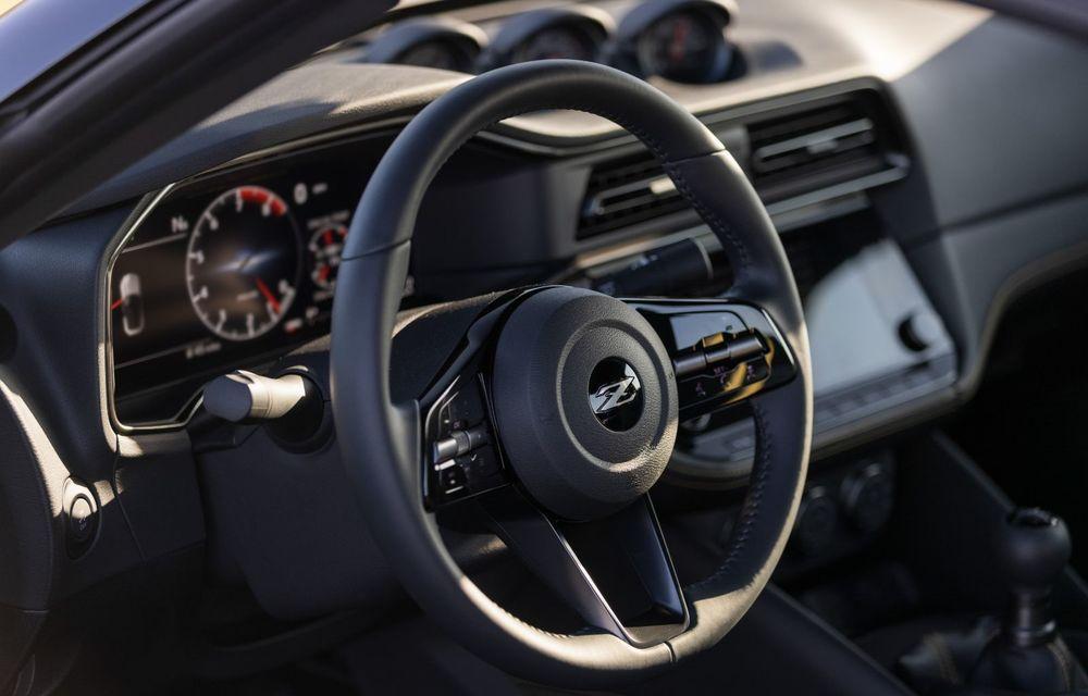 Urmașul lui Nissan 370Z este aici: se numește Nissan Z și vine tot cu motor V6 - Poza 48