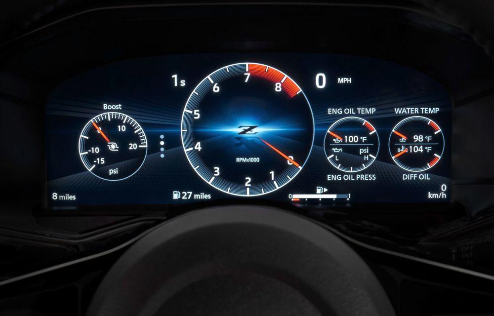 Urmașul lui Nissan 370Z este aici: se numește Nissan Z și vine tot cu motor V6 - Poza 57