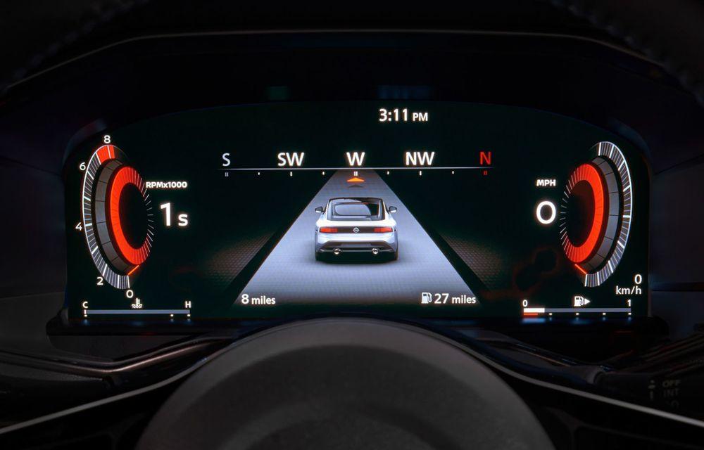 Urmașul lui Nissan 370Z este aici: se numește Nissan Z și vine tot cu motor V6 - Poza 58