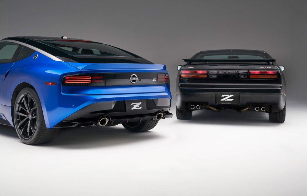 Urmașul lui Nissan 370Z este aici: se numește Nissan Z și vine tot cu motor V6 - Poza 78