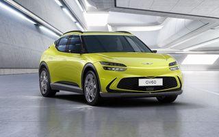 OFICIAL: Genesis GV60 este fratele premium al lui Kia EV6 și Hyundai Ioniq 5, programat să apară în 2022