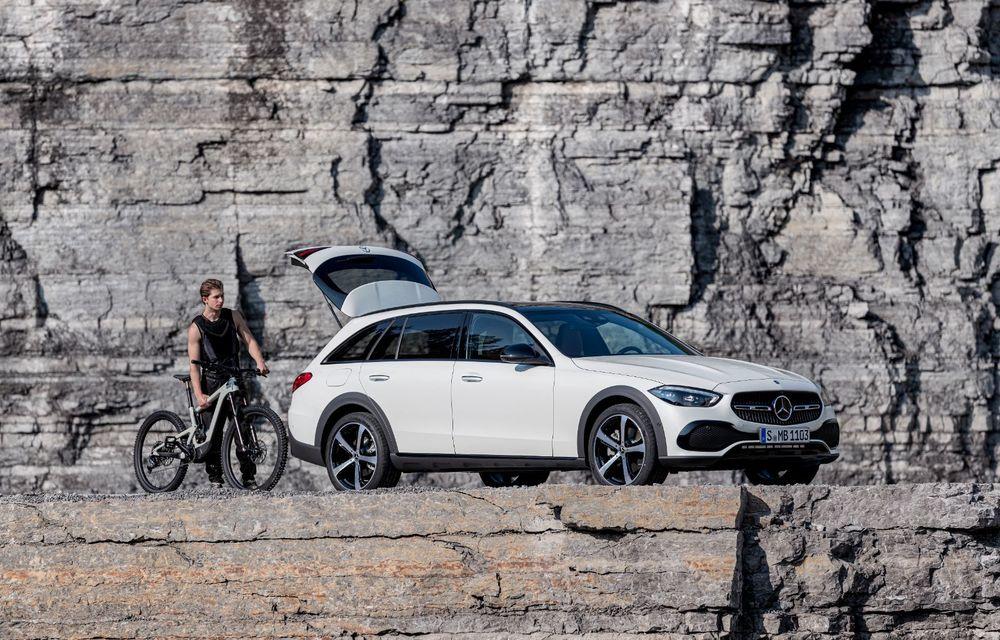 Mercedes prezintă Clasa C All-Terrain: gardă la sol mai mare și tracțiune integrală în standard - Poza 24