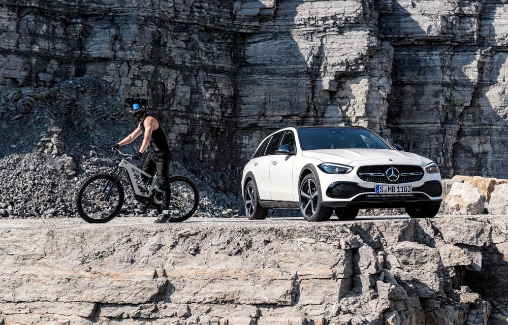 Mercedes prezintă Clasa C All-Terrain: gardă la sol mai mare și tracțiune integrală în standard - Poza 26