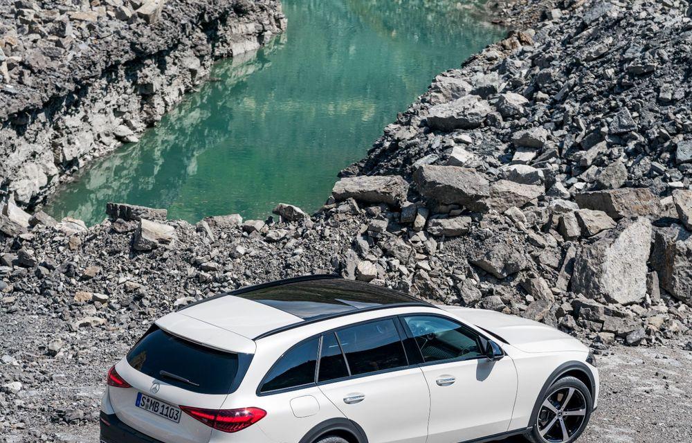Mercedes prezintă Clasa C All-Terrain: gardă la sol mai mare și tracțiune integrală în standard - Poza 27