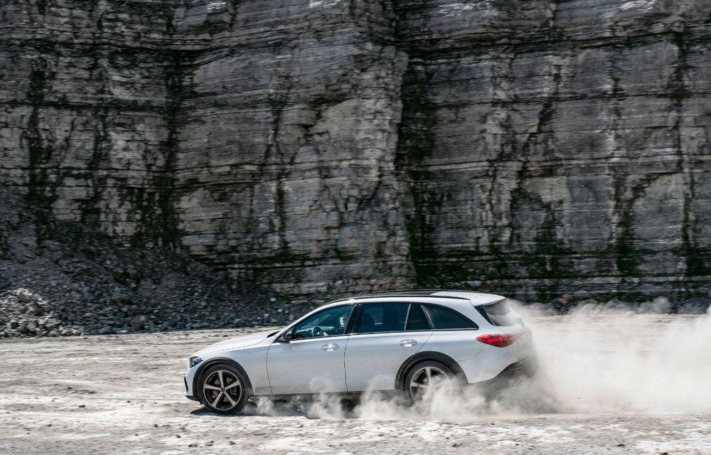 Mercedes prezintă Clasa C All-Terrain: gardă la sol mai mare și tracțiune integrală în standard - Poza 28
