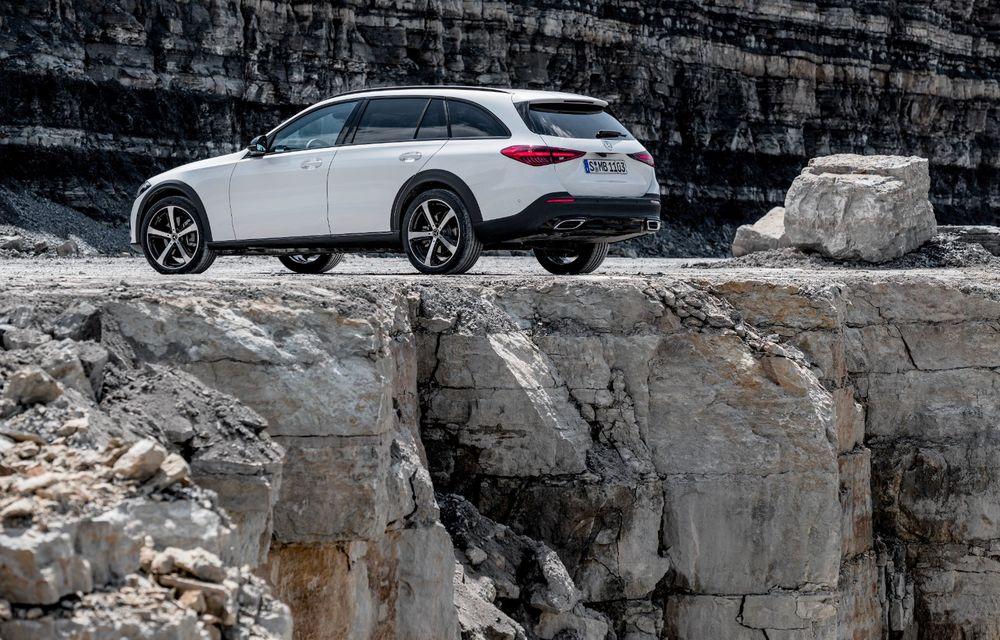 Mercedes prezintă Clasa C All-Terrain: gardă la sol mai mare și tracțiune integrală în standard - Poza 29