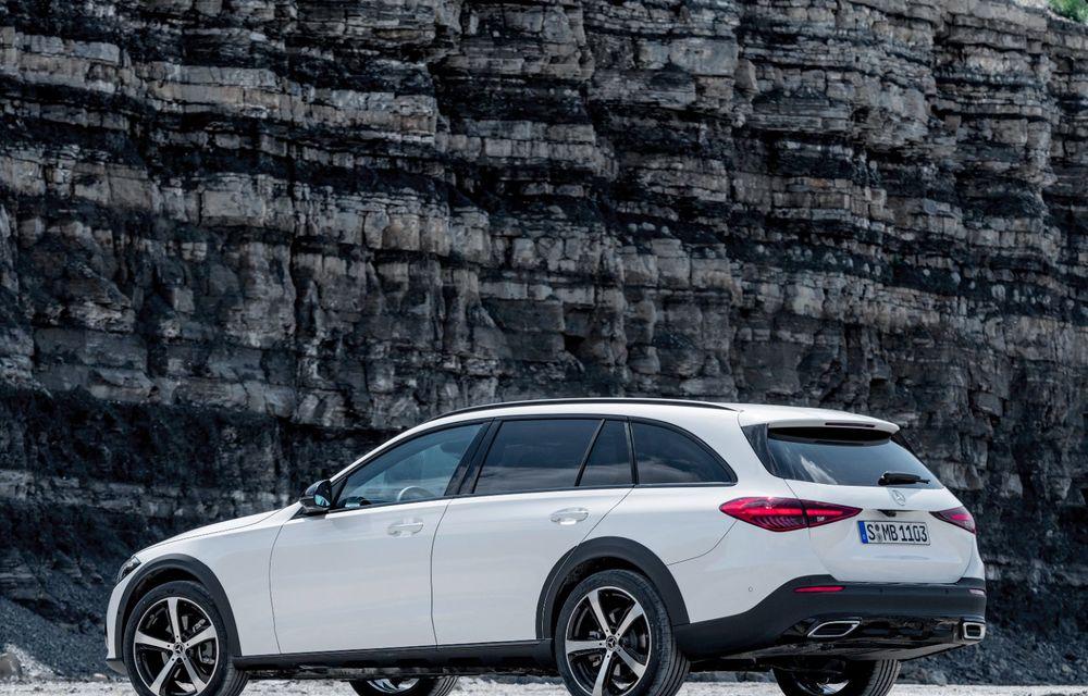 Mercedes prezintă Clasa C All-Terrain: gardă la sol mai mare și tracțiune integrală în standard - Poza 30