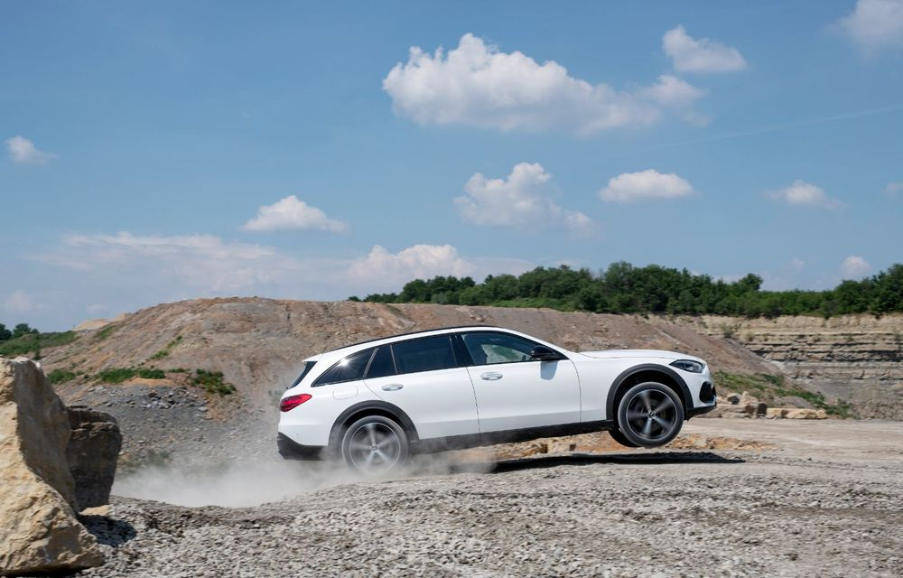 Mercedes prezintă Clasa C All-Terrain: gardă la sol mai mare și tracțiune integrală în standard - Poza 31