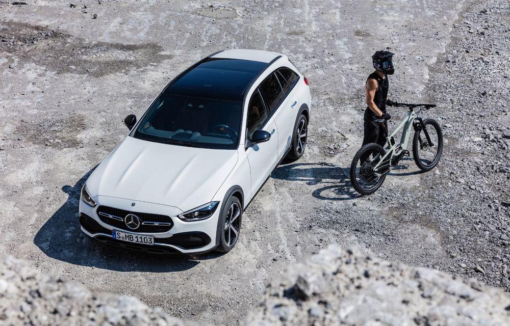 Mercedes prezintă Clasa C All-Terrain: gardă la sol mai mare și tracțiune integrală în standard - Poza 32