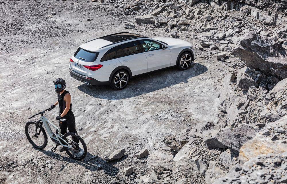 Mercedes prezintă Clasa C All-Terrain: gardă la sol mai mare și tracțiune integrală în standard - Poza 33