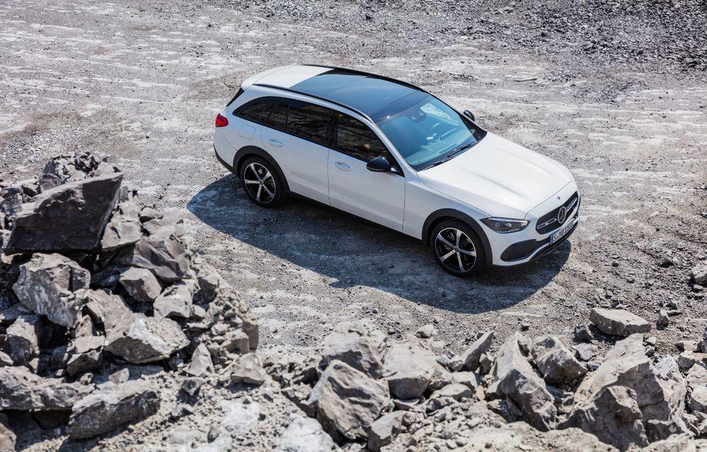 Mercedes prezintă Clasa C All-Terrain: gardă la sol mai mare și tracțiune integrală în standard - Poza 34