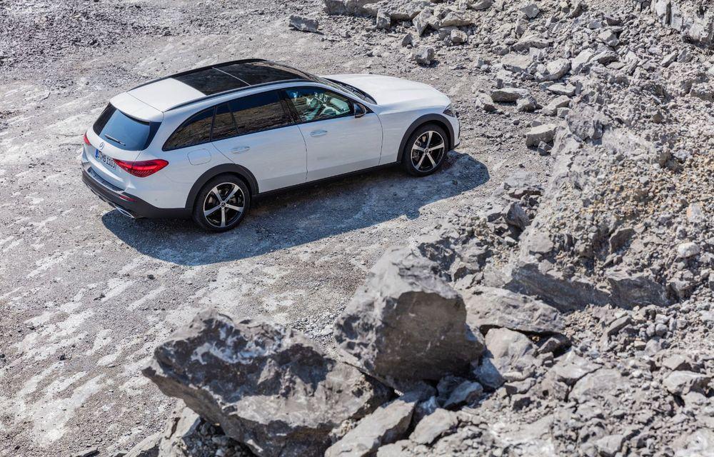 Mercedes prezintă Clasa C All-Terrain: gardă la sol mai mare și tracțiune integrală în standard - Poza 35