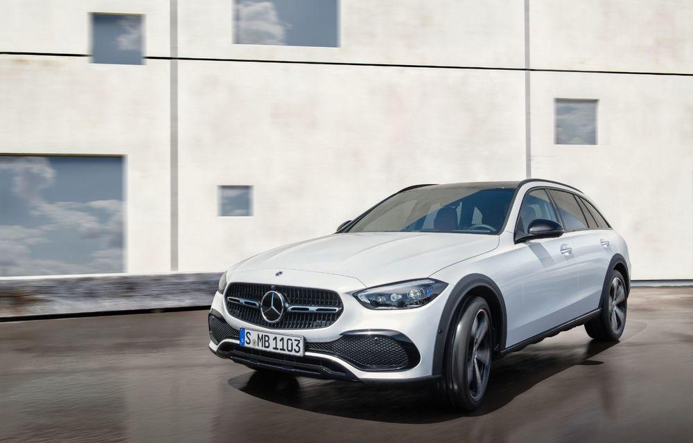 Mercedes prezintă Clasa C All-Terrain: gardă la sol mai mare și tracțiune integrală în standard - Poza 9