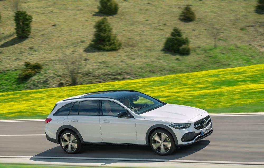 Mercedes prezintă Clasa C All-Terrain: gardă la sol mai mare și tracțiune integrală în standard - Poza 15