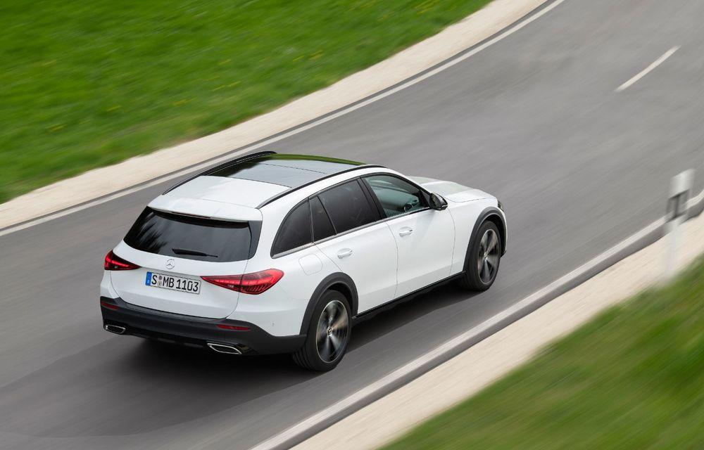 Mercedes prezintă Clasa C All-Terrain: gardă la sol mai mare și tracțiune integrală în standard - Poza 19