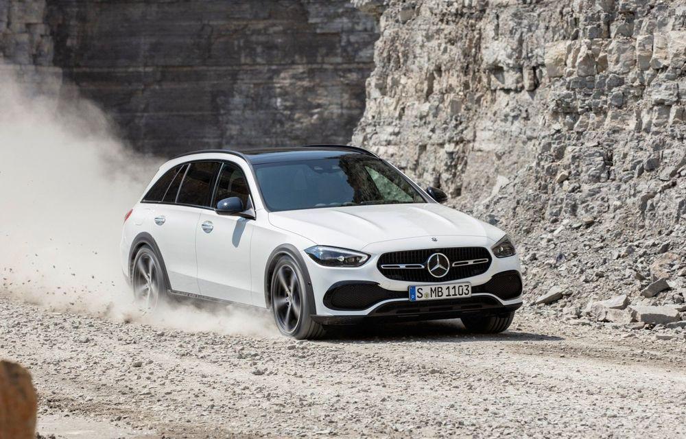 Mercedes prezintă Clasa C All-Terrain: gardă la sol mai mare și tracțiune integrală în standard - Poza 1