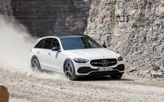 Mercedes prezintă Clasa C All-Terrain: gardă la sol mai mare și tracțiune integrală în standard