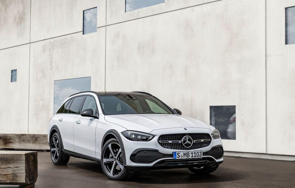 Mercedes prezintă Clasa C All-Terrain: gardă la sol mai mare și tracțiune integrală în standard - Poza 2