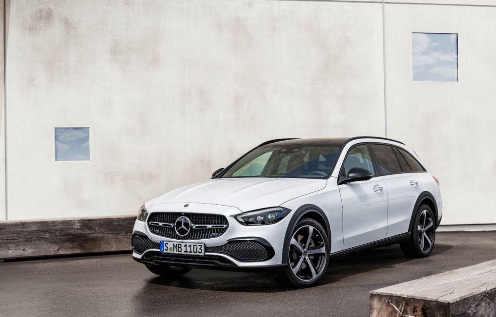 Mercedes prezintă Clasa C All-Terrain: gardă la sol mai mare și tracțiune integrală în standard - Poza 3