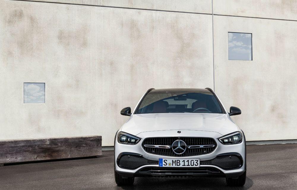 Mercedes prezintă Clasa C All-Terrain: gardă la sol mai mare și tracțiune integrală în standard - Poza 7