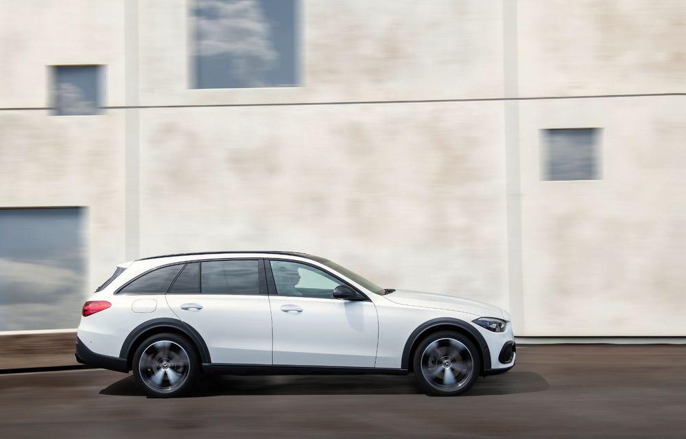 Mercedes prezintă Clasa C All-Terrain: gardă la sol mai mare și tracțiune integrală în standard - Poza 10