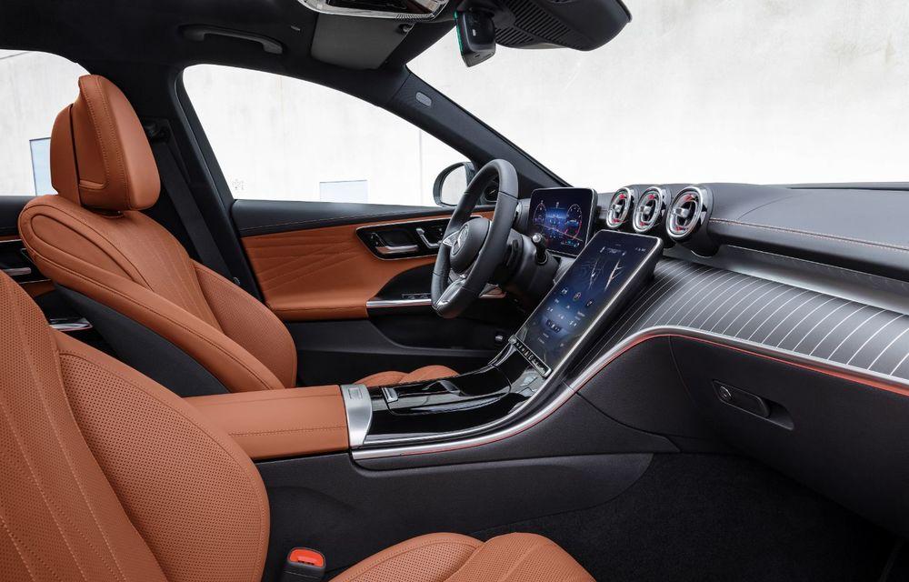 Mercedes prezintă Clasa C All-Terrain: gardă la sol mai mare și tracțiune integrală în standard - Poza 11
