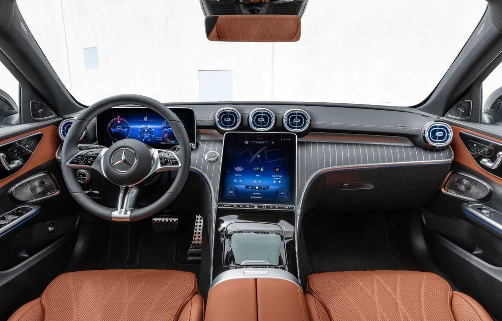 Mercedes prezintă Clasa C All-Terrain: gardă la sol mai mare și tracțiune integrală în standard - Poza 12