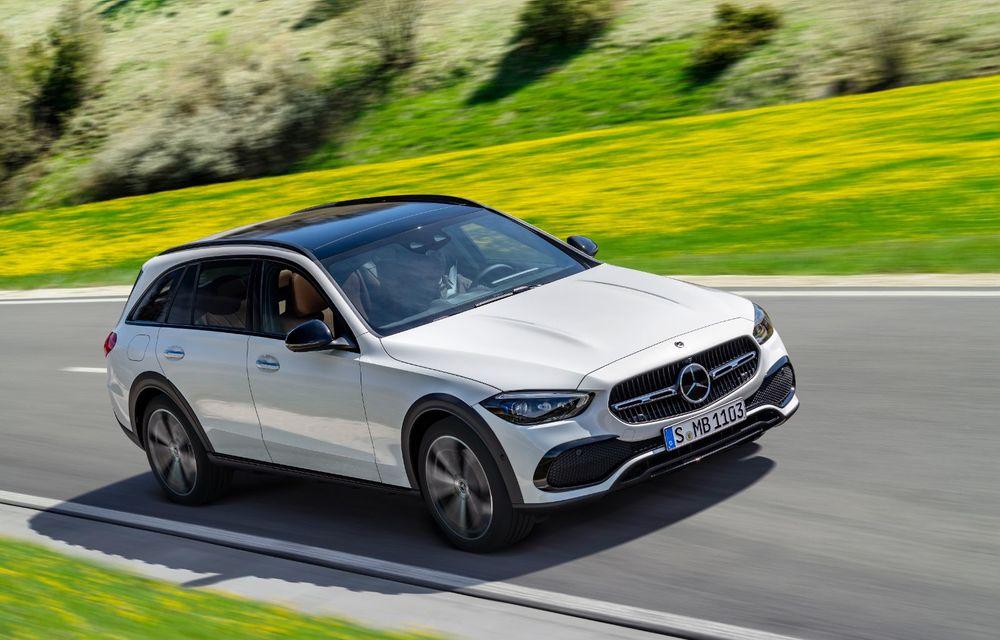 Mercedes prezintă Clasa C All-Terrain: gardă la sol mai mare și tracțiune integrală în standard - Poza 16