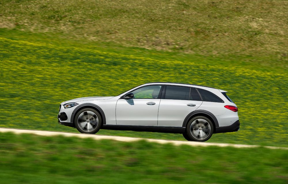 Mercedes prezintă Clasa C All-Terrain: gardă la sol mai mare și tracțiune integrală în standard - Poza 17