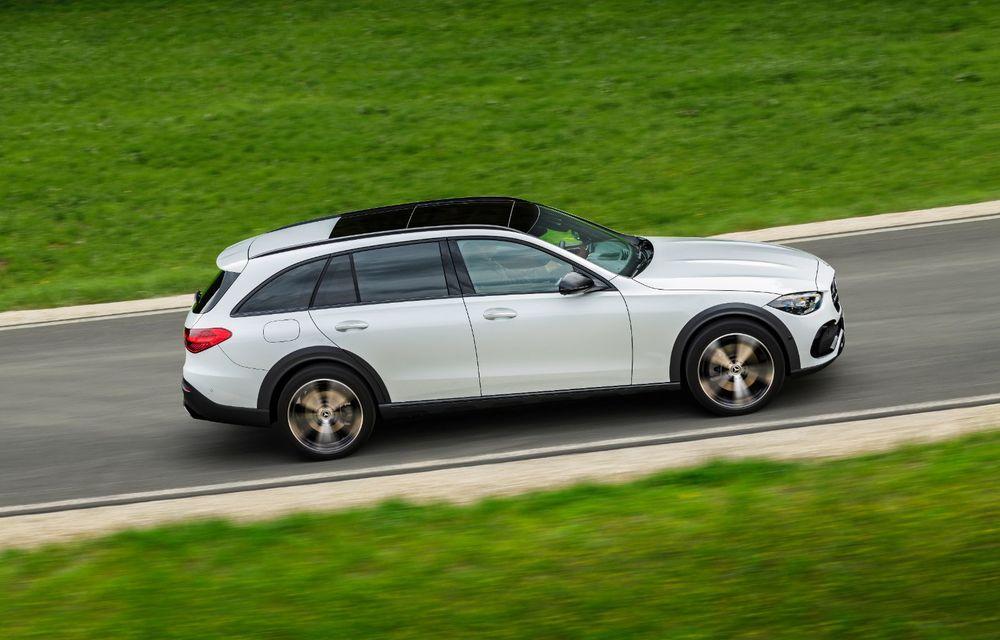 Mercedes prezintă Clasa C All-Terrain: gardă la sol mai mare și tracțiune integrală în standard - Poza 18