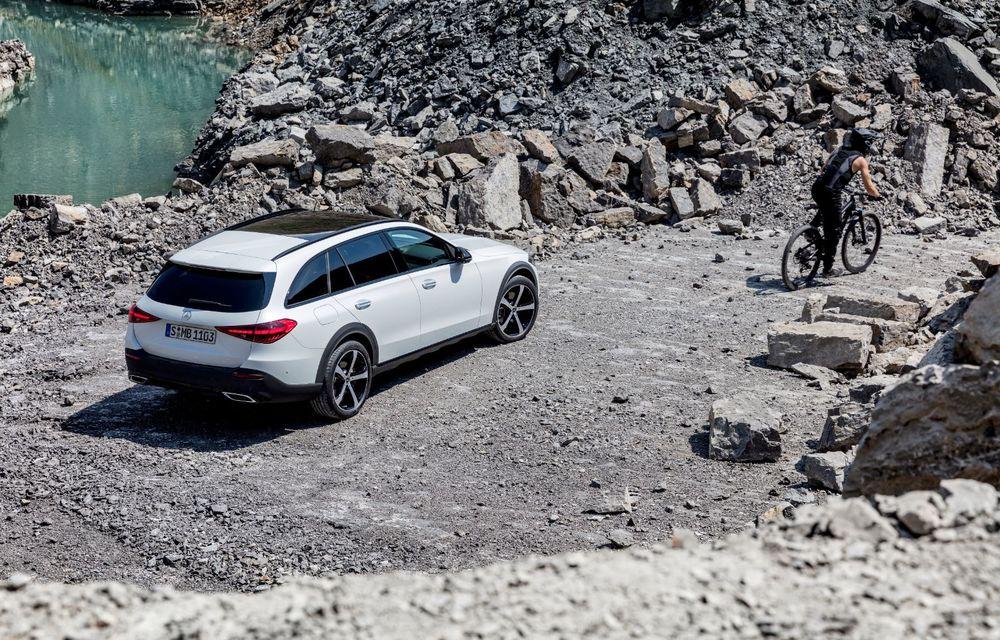 Mercedes prezintă Clasa C All-Terrain: gardă la sol mai mare și tracțiune integrală în standard - Poza 21