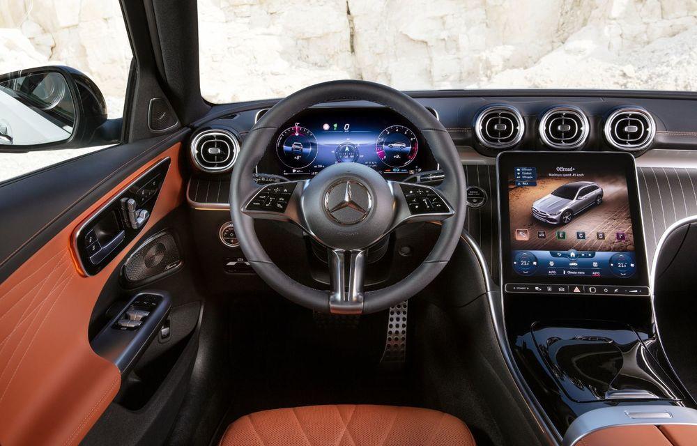 Mercedes prezintă Clasa C All-Terrain: gardă la sol mai mare și tracțiune integrală în standard - Poza 22