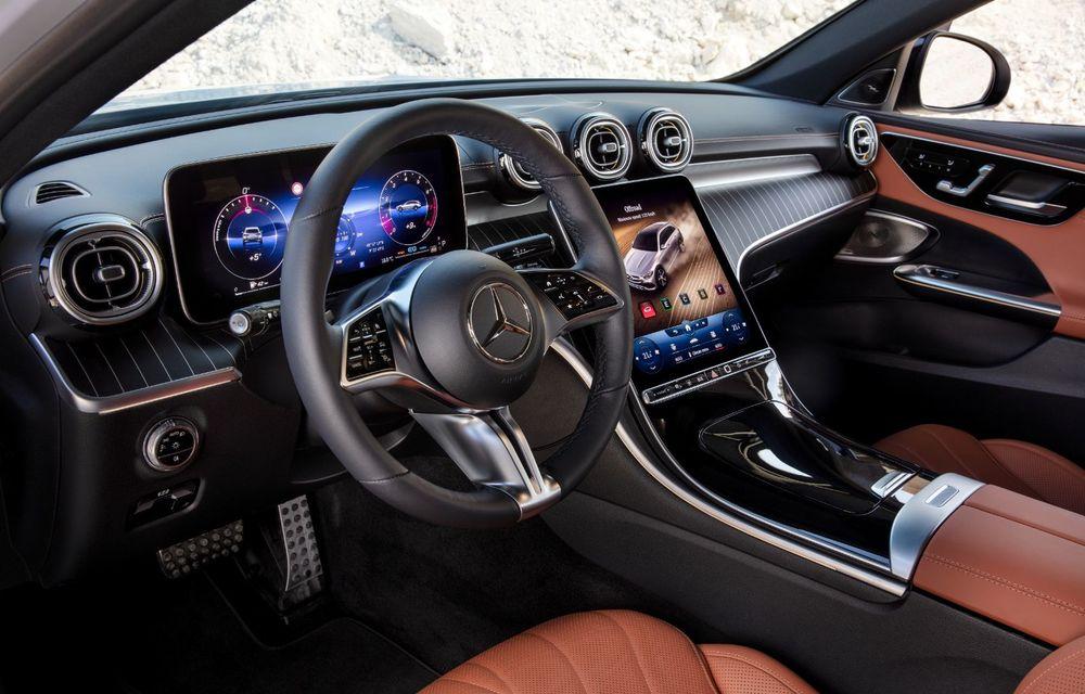 Mercedes prezintă Clasa C All-Terrain: gardă la sol mai mare și tracțiune integrală în standard - Poza 23