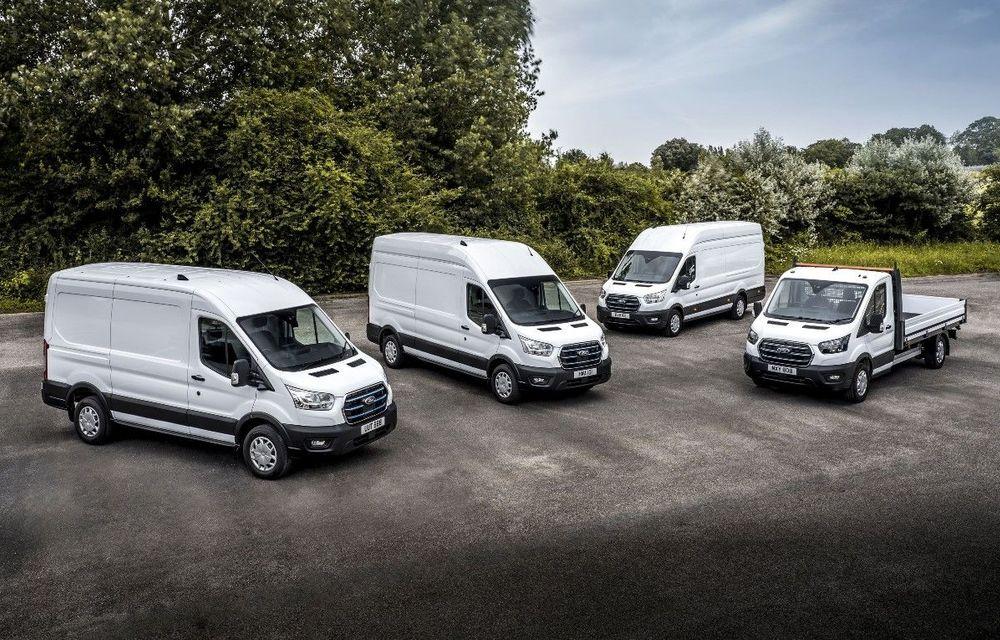 Ford începe testele cu utilitara electrică E-Transit în Europa - Poza 1