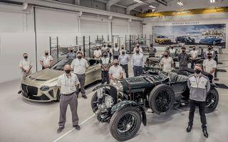 Mulliner, divizia de personalizare Bentley, a creat o copie fidelă a unei mașini din 1929