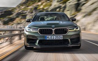 Viitorul BMW M5 ar putea avea sistem de propulsie plug-in hybrid și peste 750 CP
