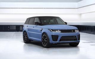Range Rover Sport SVR Ultimate Edition: culori unice, 575 CP și preț de 145.000 de euro