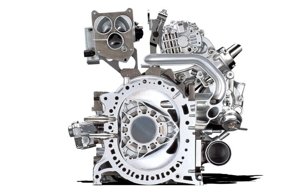 Mazda ar putea folosi hidrogenul pentru a renaște motorul Wankel - Poza 1