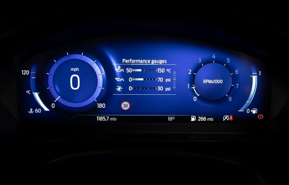 Ford Focus ST Edition: suspensie nouă, jante mai ușoare și gardă la sol mai mică - Poza 33