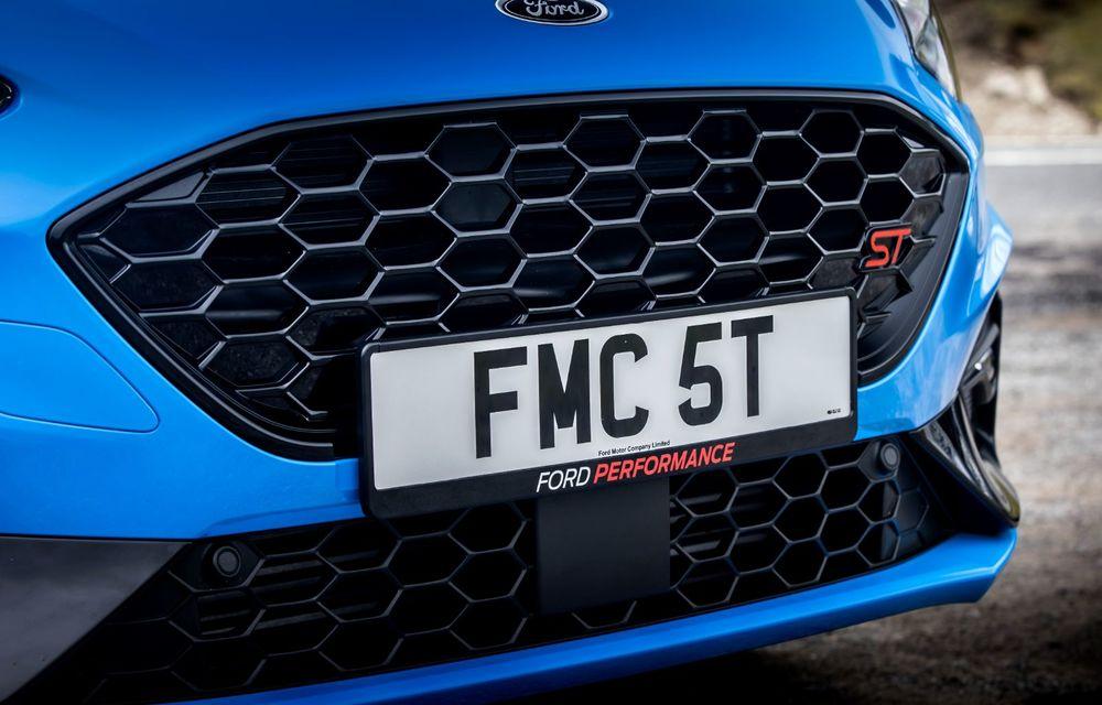Ford Focus ST Edition: suspensie nouă, jante mai ușoare și gardă la sol mai mică - Poza 41