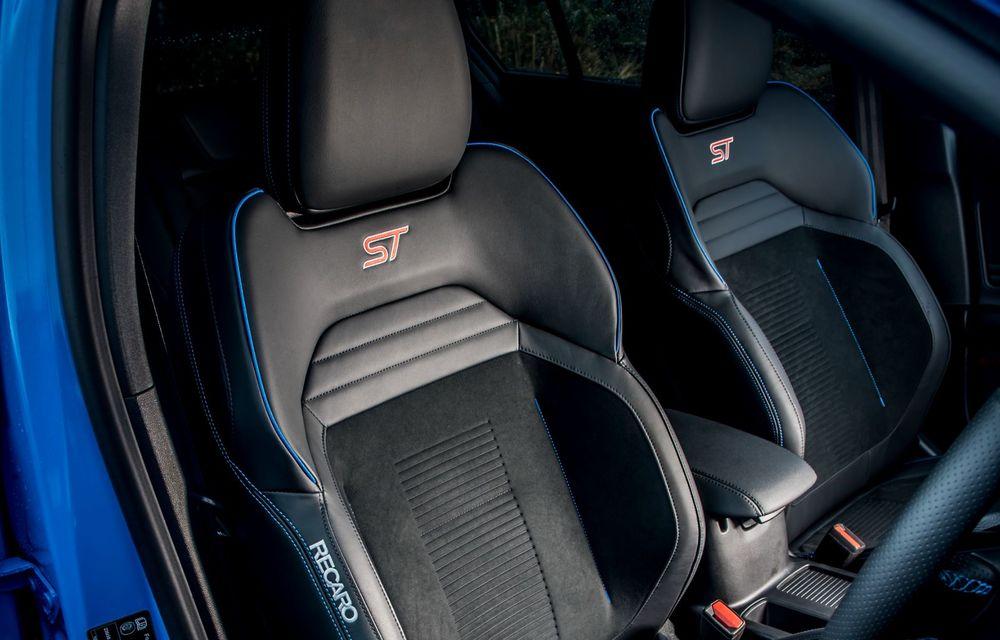 Ford Focus ST Edition: suspensie nouă, jante mai ușoare și gardă la sol mai mică - Poza 24