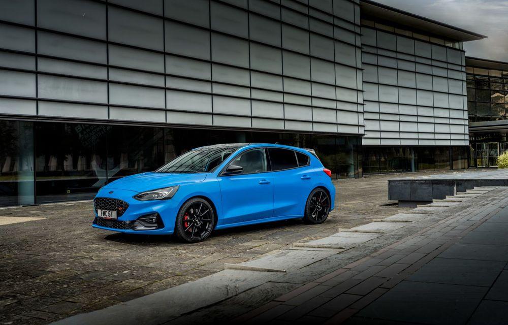 Ford Focus ST Edition: suspensie nouă, jante mai ușoare și gardă la sol mai mică - Poza 2
